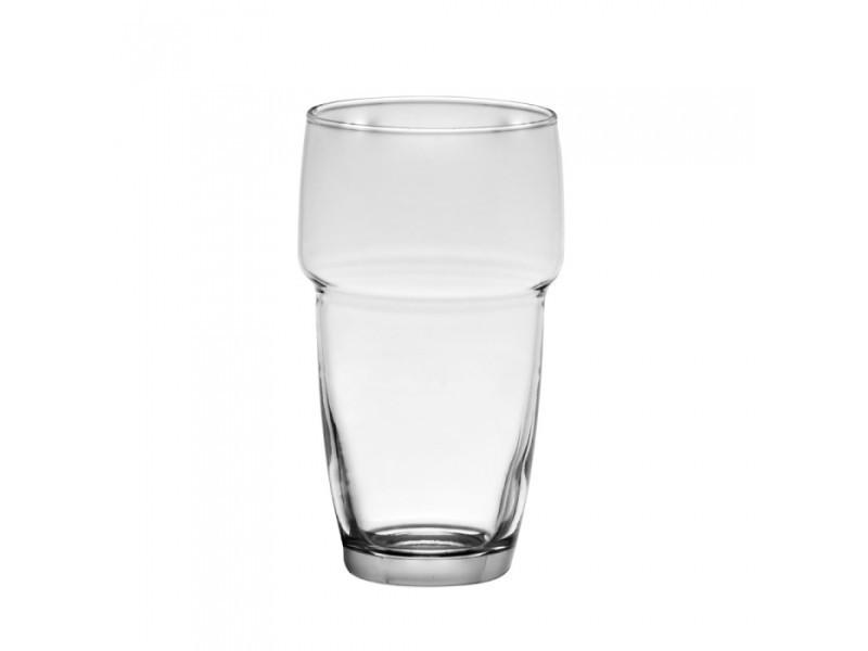 Boite de 6 verre galata forme haute 34 cl empilables