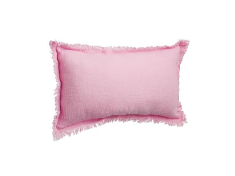 paris prix coussin camp 30x50cm framboise vente de paris prix conforama. Black Bedroom Furniture Sets. Home Design Ideas