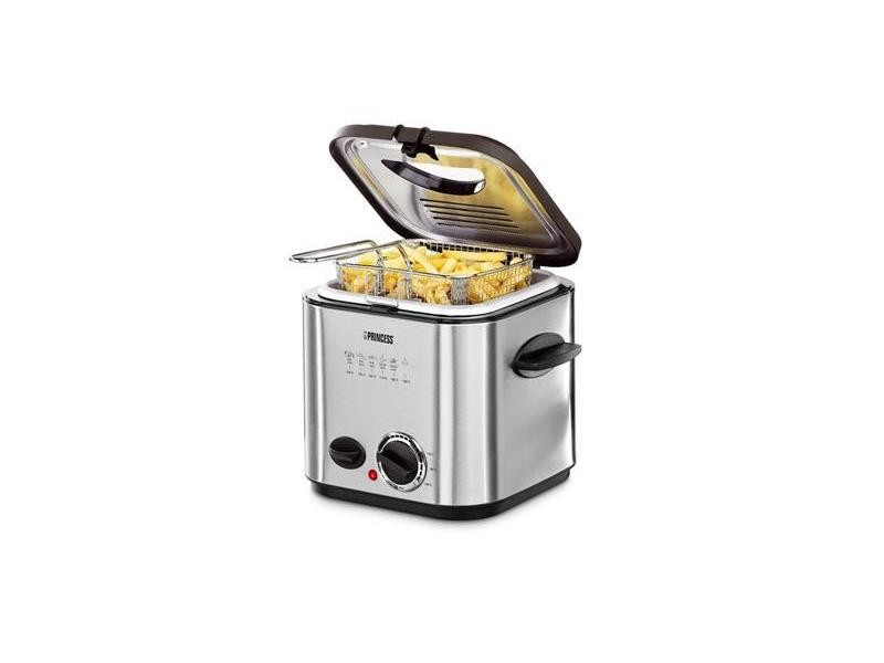 Mini friteuse et fondue 840w gris