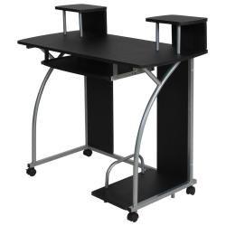 Bureau enfant table de travail meuble mobilier chambre noir 2608004