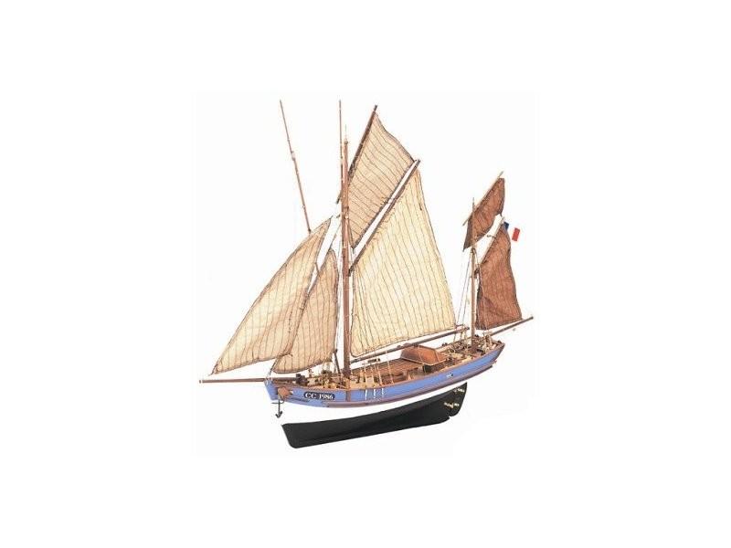 Maquette bateau en bois marie jeanne vente de artesania