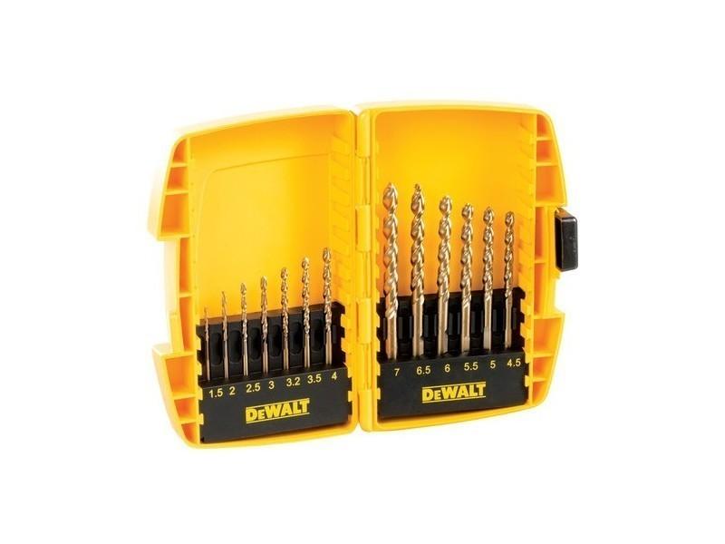 Dewalt - coffret 13 pièces pro forets à métal tough case extreme 2® - dt7920b