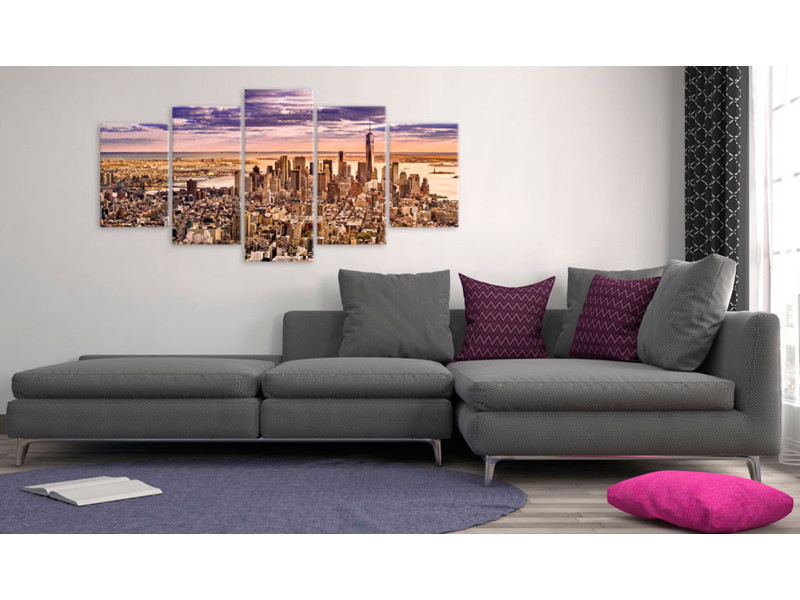 100x50 tableau new york villes chic sleeplessness in new york