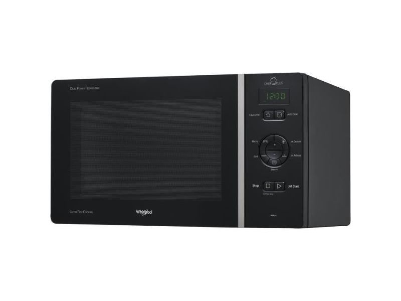 Whirlpool mcp344nb - micro-ondes posables, gril, chef plus, 25l, 800 w WHI8003437860683