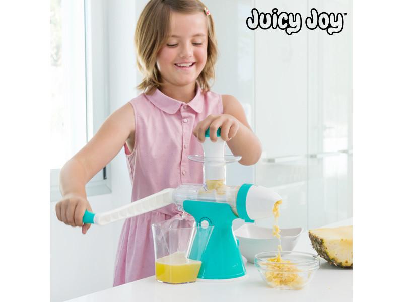 Machine à jus et glaces avec manivelle juicy joy