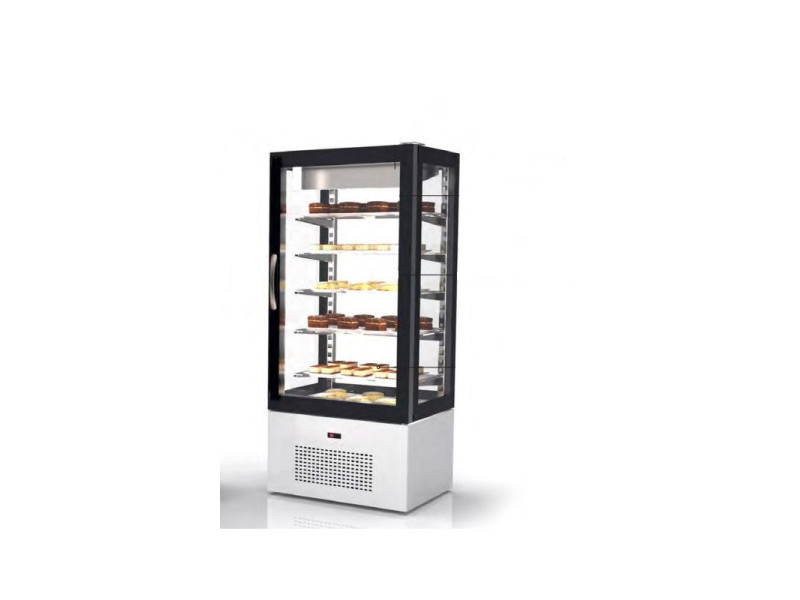 Vitrine pâtisserie réfrigérée négative - 620 x 660 mm - sayl - r290a
