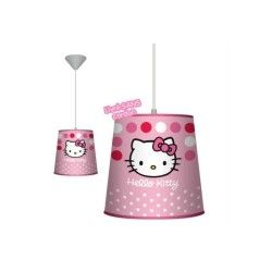 Hello kitty suspension abat jour plafonnier hello kitty