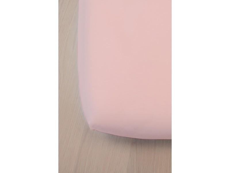 drap housse bambou pour lit b b 60x120 cm rose vente de kadolis conforama. Black Bedroom Furniture Sets. Home Design Ideas