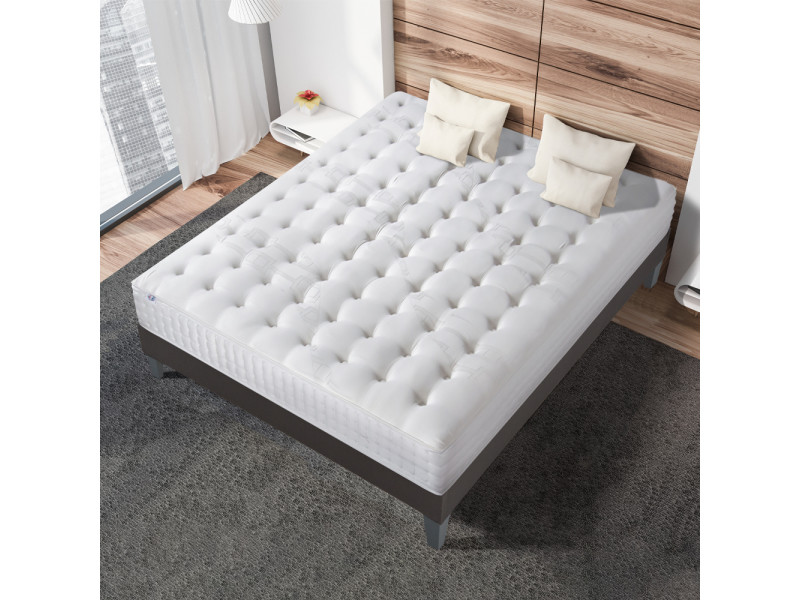 matelas gracieux multi couches m moire de forme 160x200 cm vente de olympe literie conforama. Black Bedroom Furniture Sets. Home Design Ideas
