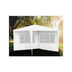 Tente de réception avec fenêtres 3x3 m