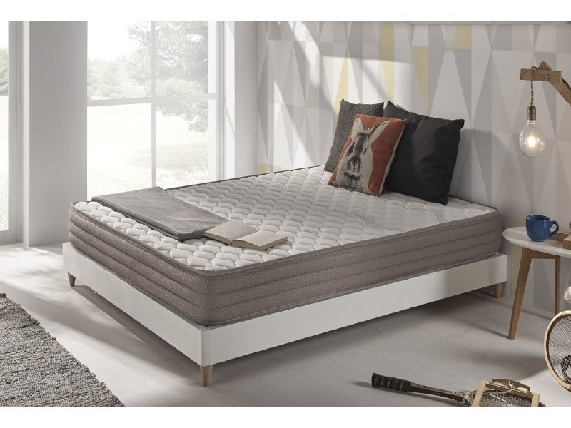 matelas aerolatex 140x200 cm en mousse hr blue latex mousse effet m moire aquapur ultra. Black Bedroom Furniture Sets. Home Design Ideas