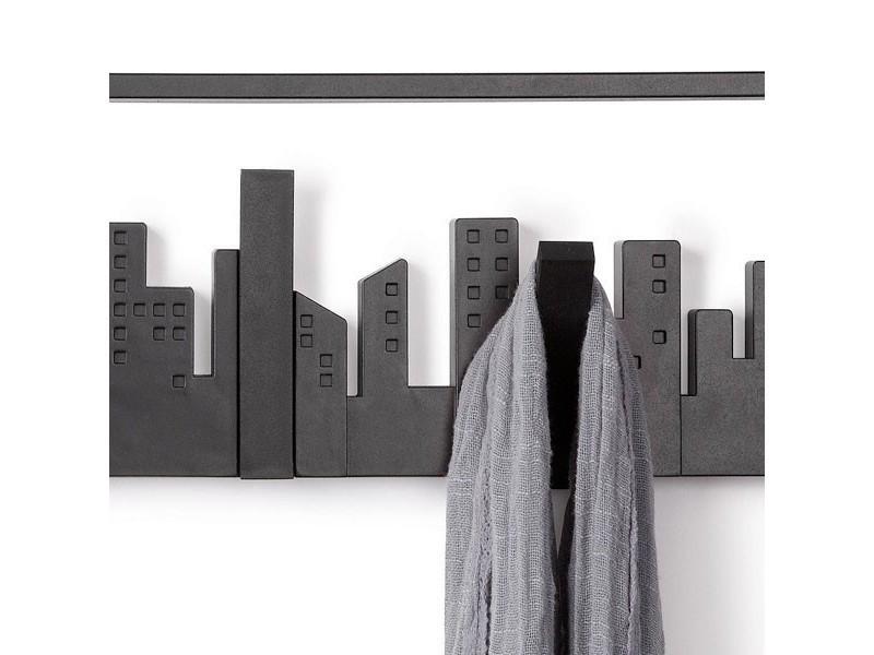 porte manteau mural design skyline vente de umbra conforama. Black Bedroom Furniture Sets. Home Design Ideas