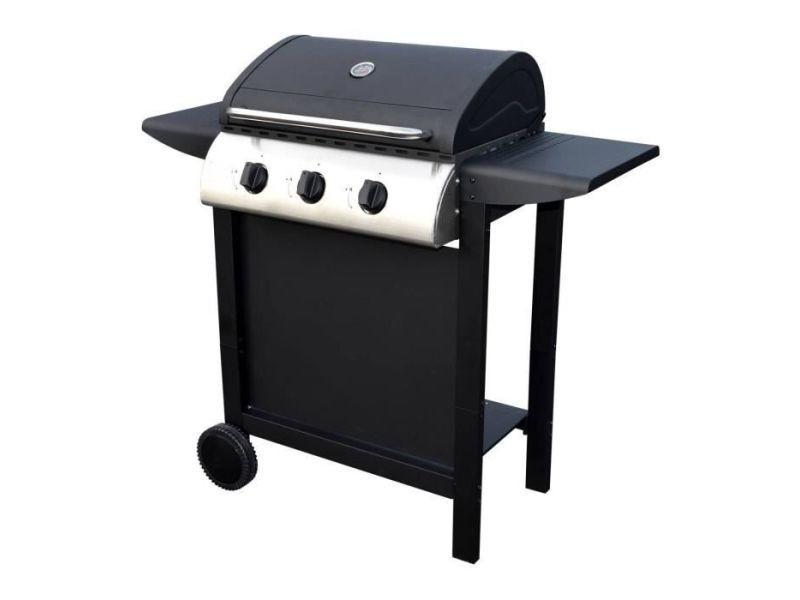 Barbecue barbecue gaz - 3 brûleurs