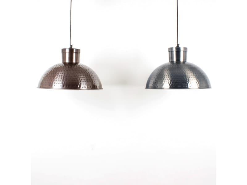 suspension cuisine paulista argent e en acier vente de keria luminaires conforama. Black Bedroom Furniture Sets. Home Design Ideas