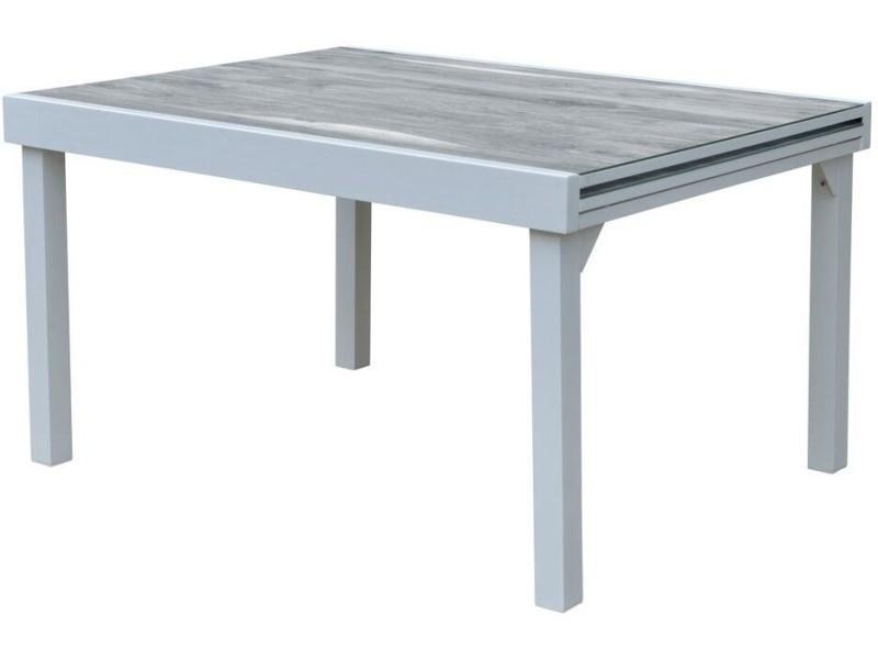 Table de jardin modulo wood 135 à 270 cm - Vente de WILSA GARDEN ...