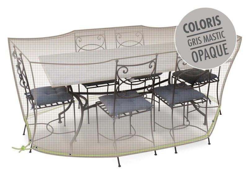 Housse de protection pour salon de jardin 240 x 130 x 70 cm - Vente ...