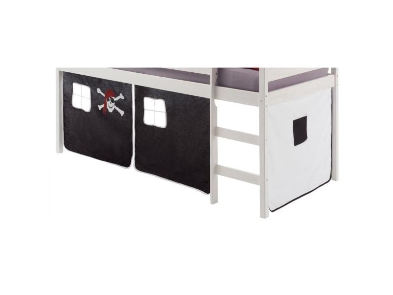 affordable rideaux pour lit superpos lit surlev cabane. Black Bedroom Furniture Sets. Home Design Ideas