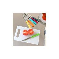Jeu de couteaux avec planche colors (7 pièces)
