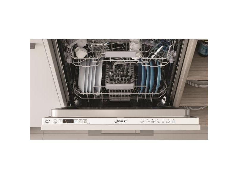 Lave-vaisselle encastrable indesit 13 couverts 59.8cm a+, dic3b+16a