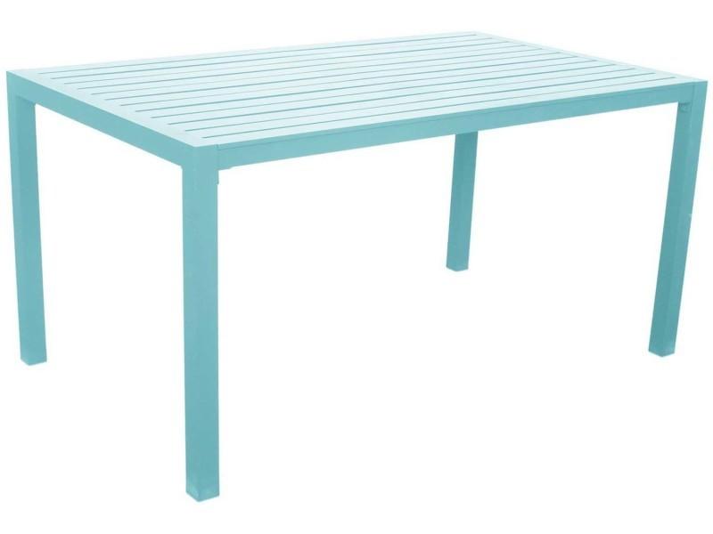 Table de jardin en aluminium sarana 150 cm