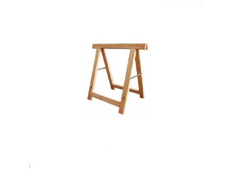Outifrance – tréteau bois industriel 80*80 cm