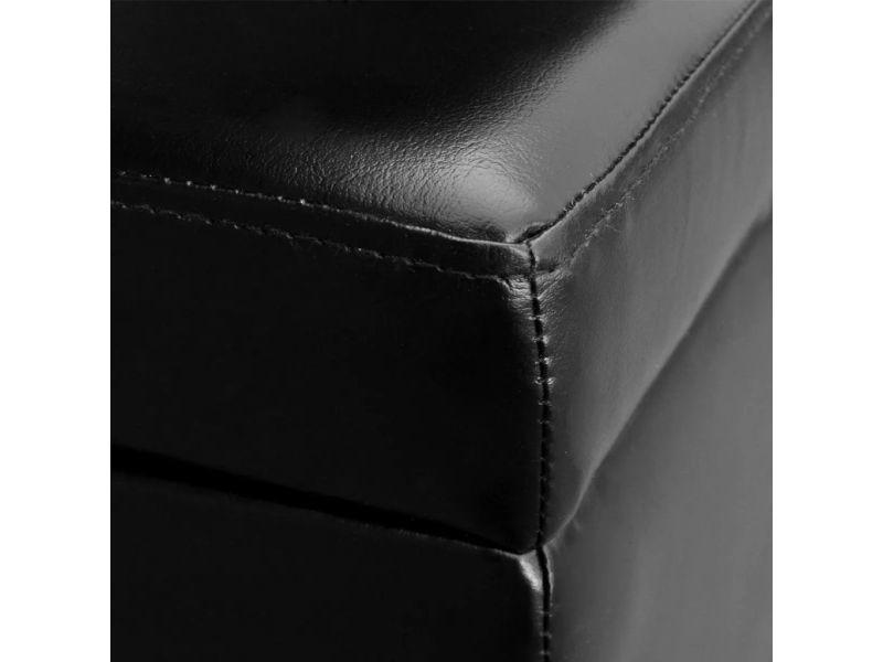 Icaverne - bancs coffres gamme banc de rangement en bois noir