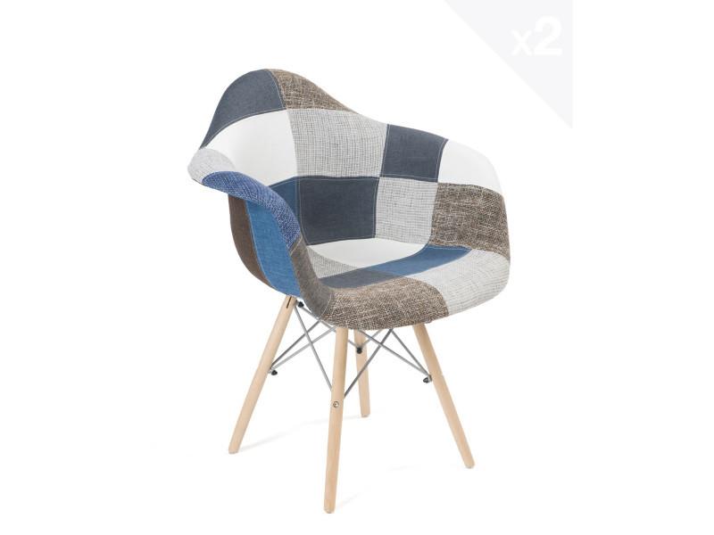 fauteuil scandinave patchwork galerie de d coration 2019. Black Bedroom Furniture Sets. Home Design Ideas