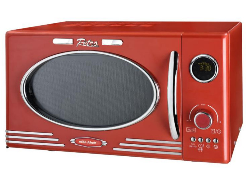 Micro-ondes + grill 25l 1000w rouge - scmw2500dgr scmw2500dgr