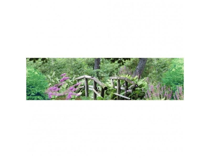 Brise vue 100% occultant jardin anglais 300 x 80 cm - canisse brise vent pour clôture de jardin