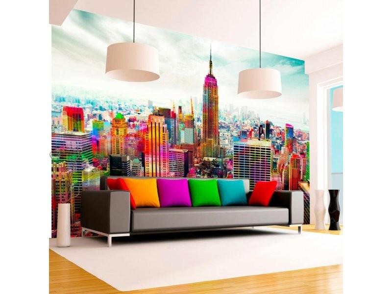 Papier peint colors of new york city A1-4XLNEW010457