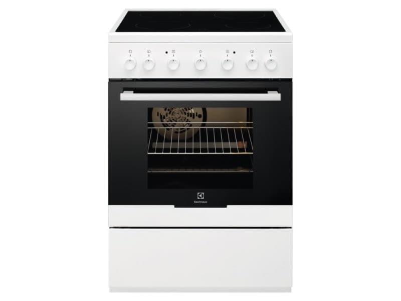 Cuisinière vitrocéramique electrolux ekc61360ow 60cm 54l blanc EKC61360ow