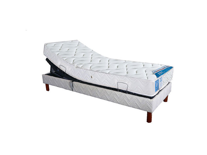 lit lectrique maliterie sommier lattes relaximo et matelas latex pacific tapissier 90x190cm. Black Bedroom Furniture Sets. Home Design Ideas