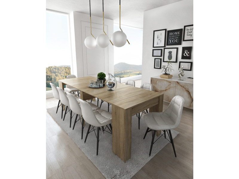 Home Avec Table ExtensibleRectangulaire Innovation Console XuwZikOPT