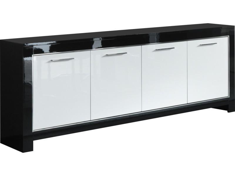 Buffet Noir Et Blanc - Amazing Home Ideas - freetattoosdesign.us
