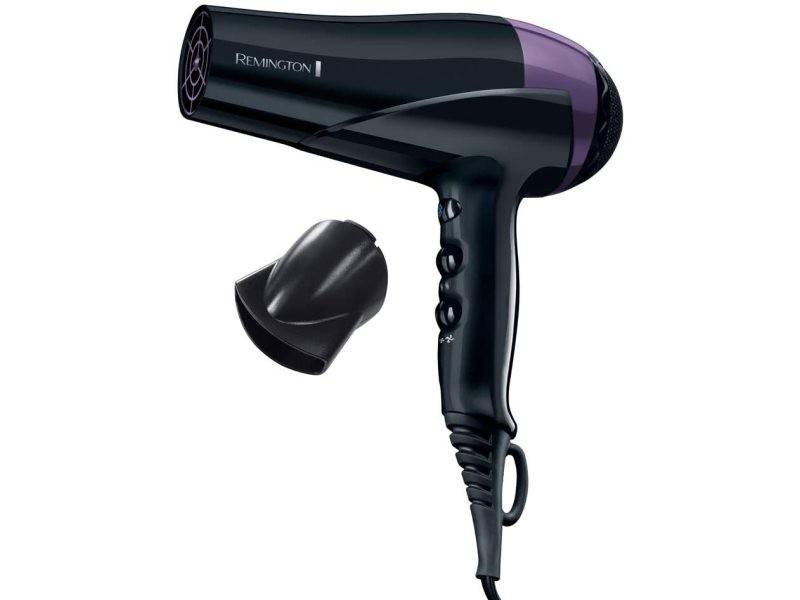 Sèche cheveux ionique 2200w noir violet