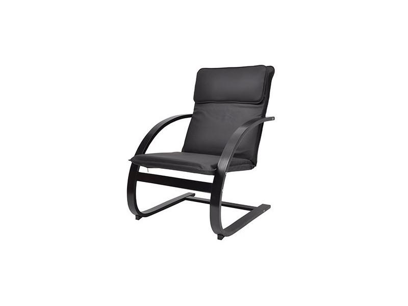 fauteuil relax pu noir vente de tous les fauteuils conforama. Black Bedroom Furniture Sets. Home Design Ideas