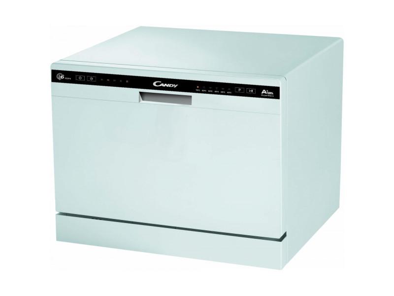 Lave-vaisselle compact 6c 51db a+ blanc - cdcp6/e cdcp6/e