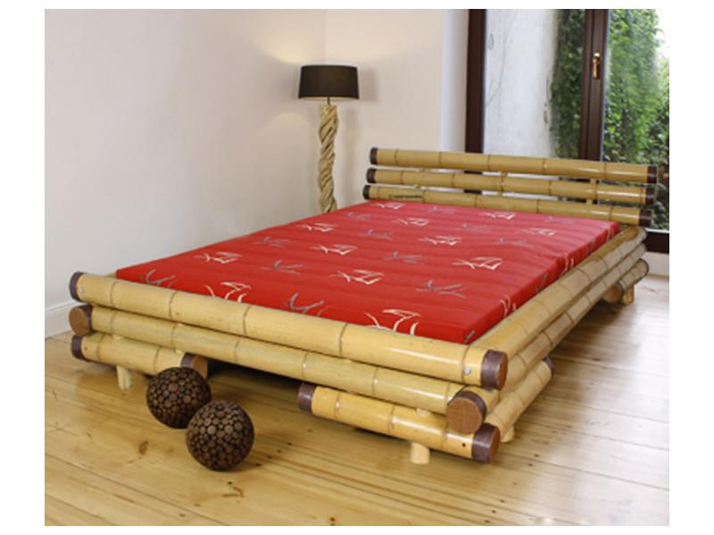 Lit bambou conforama interesting finest lit bambou conforama u colombes lit bambou conforama - Lit baldaquin bambou conforama ...