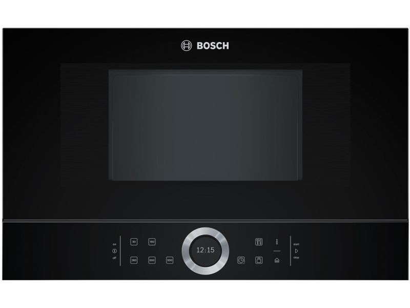 Micro-ondes encastrable 21l bosch 900w 59.4cm, 1012832 BFL634GB1