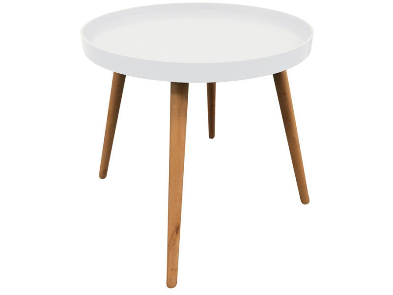 Table d\'appoint ronde avec plateau - Vente de THE CONCEPT FACTORY ...