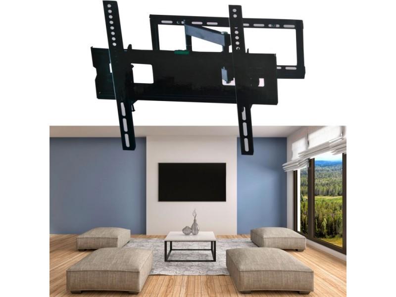 Support Tv Mural Pivotant Et Inclinable Capacité 45 Kg écran Lcd