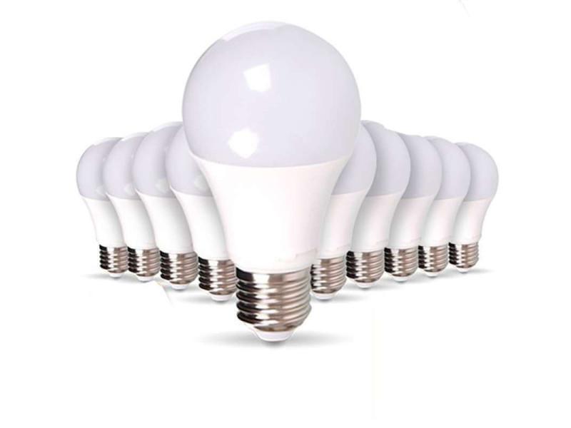 Lot de 10 ampoules e27 15w a65 équivalent 100w - blanc chaud 2700k 10XSP1726