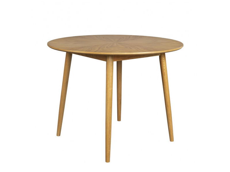 Fab - table repas ronde en bois d120
