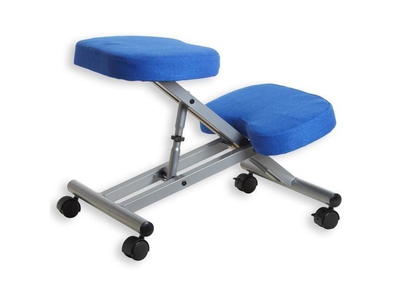 tabouret ergonomique robert si ge ajustable repose genoux chaise de bureau sans dossier en. Black Bedroom Furniture Sets. Home Design Ideas