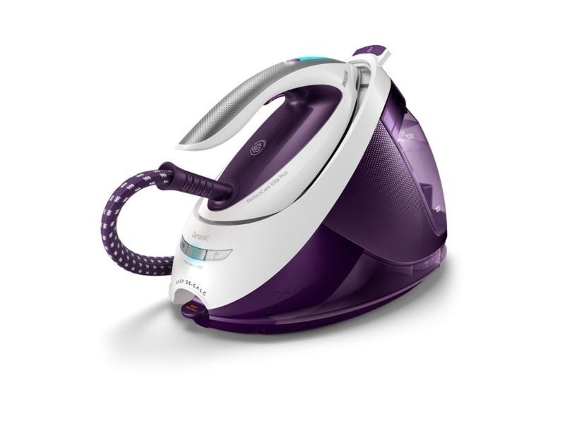 Philips centrale vapeur perfect care elite blanc et violet gc9666/30