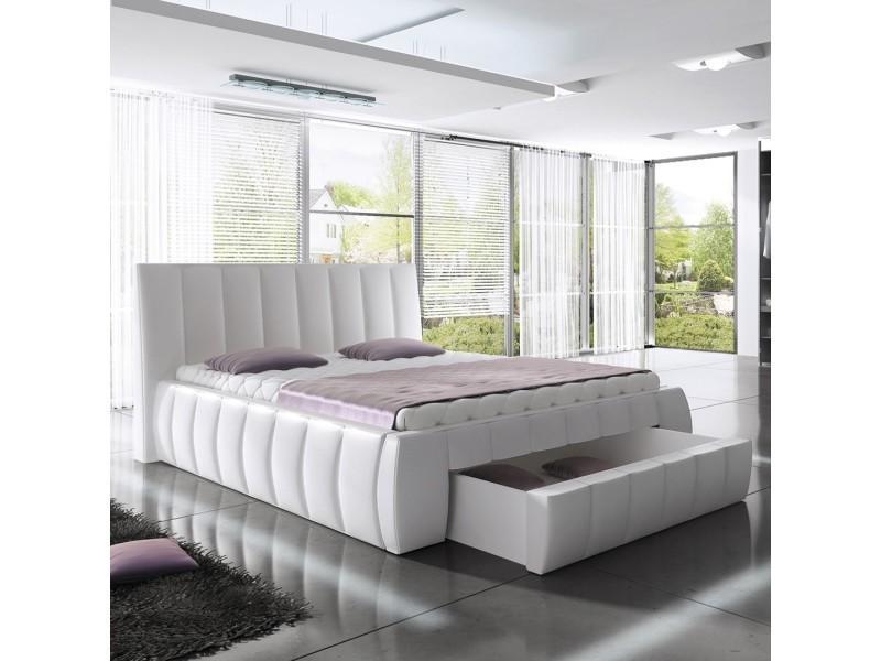 lit avec rangement conforama simple banc coffre rangement pvc taupe xx cm pliable with lit avec. Black Bedroom Furniture Sets. Home Design Ideas