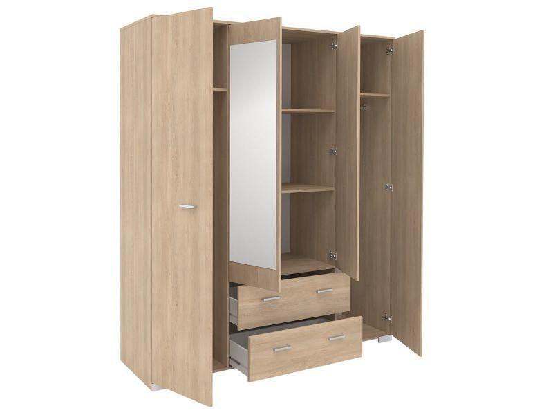 jupiter ch ne armoire 4 portes 2 tiroirs vente de. Black Bedroom Furniture Sets. Home Design Ideas