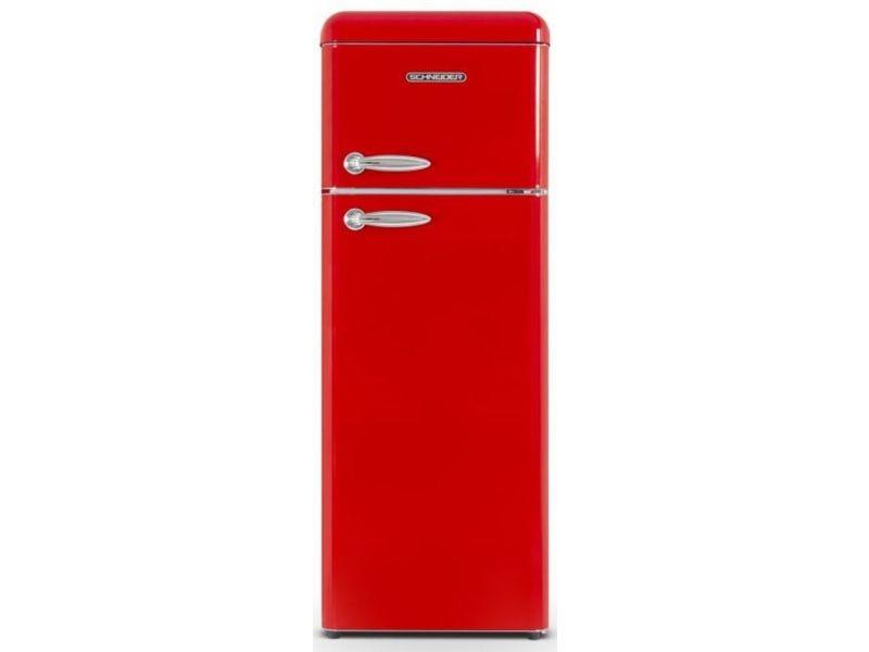 Réfrigérateur 2 portes schneider, scdd208vr