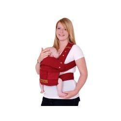 Porte bébé ruby rouge