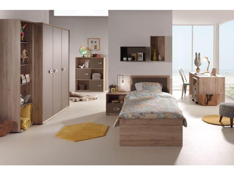 Ensemble complet pièces pour chambre moderne avec lit cm